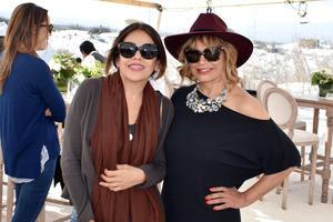 Veronica Anaya y Sara Cuéllar