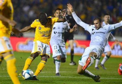 Santos no pudo conseguir la victoria.
