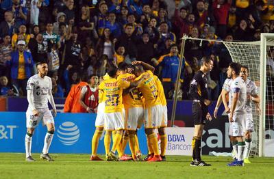 Triste visita tuvo Santos a Tigres.