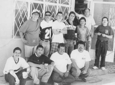 Alfredo, Ricardo, Reynaldo, Gerardo, Fernando, Felipe, Lorenzo, Carlos, Faustino y Lucio en 1967.