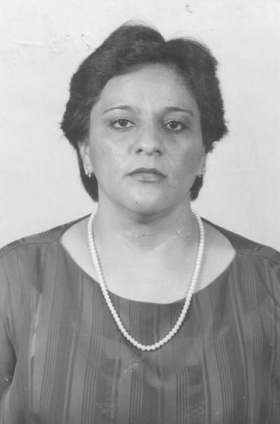 María del Rosario Sánchez.