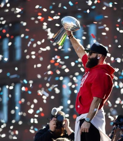Patriotas de Nueva Inglaterra desfiló como campeón del Super Bowl.