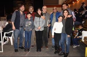 06022019 Salvador Franco, Lucía Morales, Arturo Ávalos, Agustín de Villa, Germán Vargas, Jaime López, Leticia Estrada y Valentina López.
