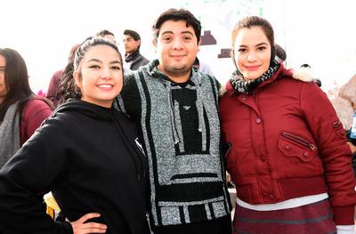 07022019 Lady Yépez, Néstor Puentes y Cristina Moreno.