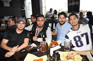 08022019 Gerardo, Damir, Adrián y Rodolfo.