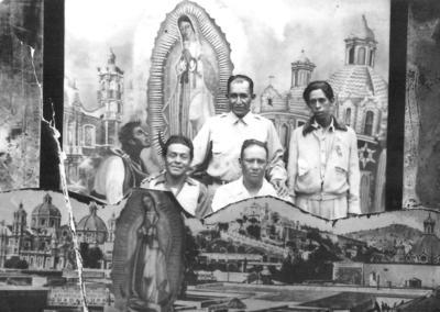 10022019 Jesús Solis, Sergio Reyes, Toño Luna, Héctor Gaucín (f), Manuel Reyes, Luis Barragán (f), Blas Garza, Gerardo Flores, Chava Martínez (f), Francisco Ortiz (f) y hermanos.