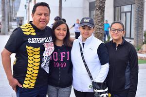 11022019 Juan Carlos, Andrea, Laura y Vanessa.