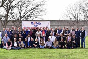 10022019 EMOTIVA REUNIóN.  Exalumnos del Instituto Francés de La Laguna, Generación 59 - 71', se reunieron recientemente.