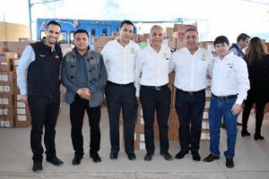 13022019 Pablo Murra, Cuauhtémoc Rangel, Mony Monroy, Miguel Chong, Juan José Juárez  y Jesús Sánchez de Valle.