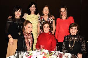Marilu, Monica, Marthita, Beatriz, Jessica, Pilar y Susy