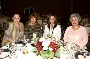 Martha, Pilar, Mely y Mayela