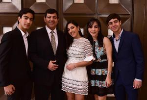 Martin, Martin, Barbara, Iveth y Alejandro
