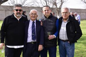 Gregorio, Ruben, Gustavo y Ricardo