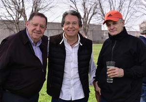 Nacho Martinez, Pedro Gallardo y Felix Sesma