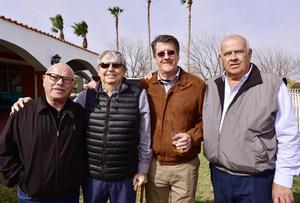 Ricardo Cantu, Ignacio Obeso, Cesar Madero y Jesus Peña