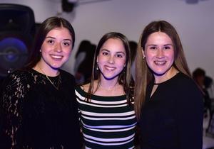 Michelle, Paula y Paola