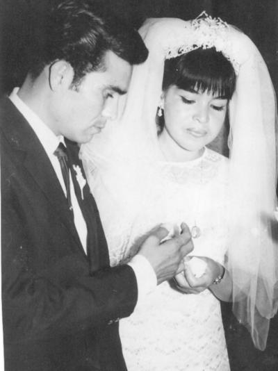 17022019 Eliseo Veloz Regalado y Soledad Félix Lozano contrajeron nupcias el 14 de febrero de 1970.