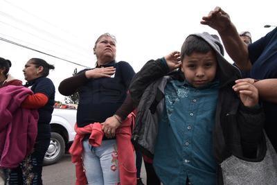 El sindicato antagónico, el Democrático Nacional, presidido por Ismael Leija Escalante, canceló su asistencia ante la presencia del minero nacional.