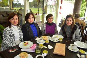 19022019 Mayela, Tere, Lilia y Refugio.
