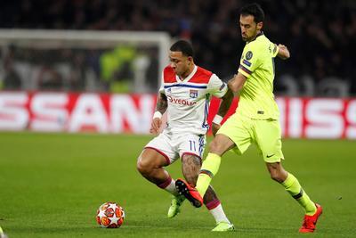 Ofensiva de Barcelona sin goles ante Lyon en Champions