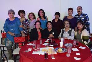 20022019 José Ángel, Rosa María, Elsa, Livia, Doris, Margarita, Felisa, Pilar, Lupita, Raquel y Regina.