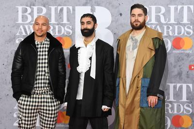 Integrantes de la banda británica de música electrónica Rudimental.