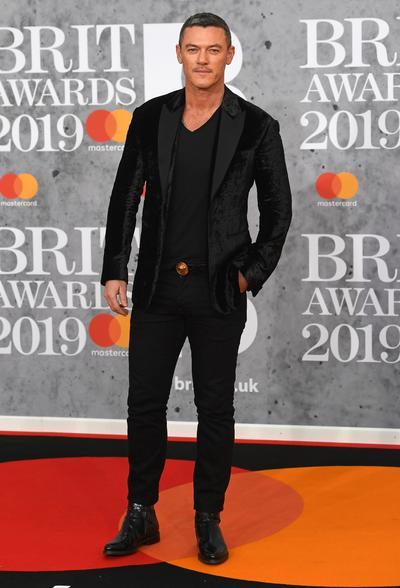 El actor galés Luke Evans.