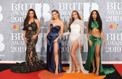 Las integrantes de la banda femenina de pop británico Little Mix.