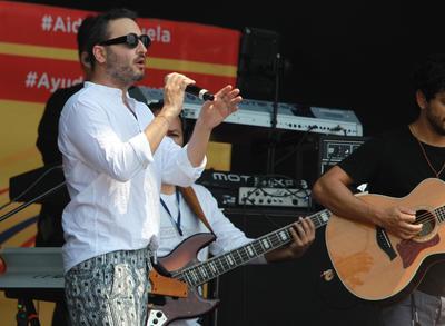 El cantante mexicano Jesús Navarro.