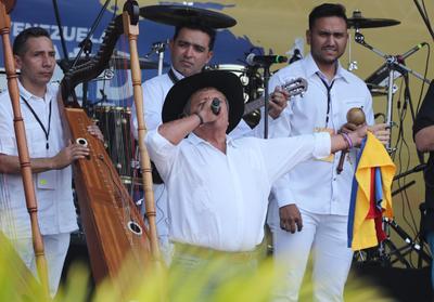 El cantautor colombiano 'El Cholo' Valderrama.