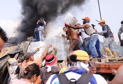 Violentas protestas estallan en Venezuela