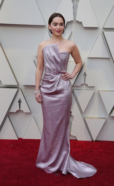 La actriz británica Emilia Clarke.
