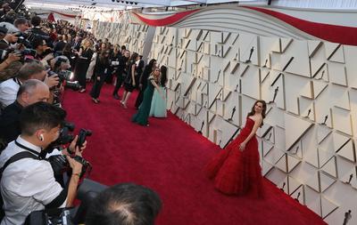 Actores arriban a la 91 entrega de los Premios Oscar.
