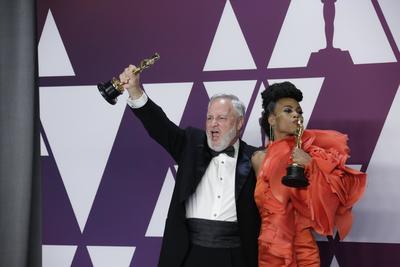 Jay Hart y Hannah Beachler, ganadores de Mejor Diseño de Producción por Black Panther.