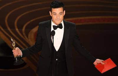 Rami Malek se lleva el Oscar a Mejor Actor por Bohemian Rhapsodi.
