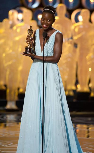Lupita Nyong'o.  Es ganadora del Oscar a Mejor actriz de reparto por 12 Years a Slave en 2013. Lupita nació en la Ciudad de México.