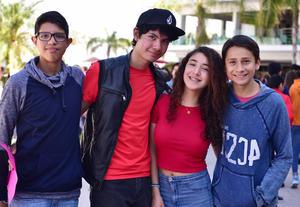 25022019 Jared, Javier, Paulina y Jahaziel.