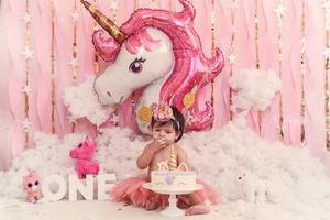 24022019 Allison Zoé Zapata Nava festejando su primer cumpleaños de vida. - Mike Photography