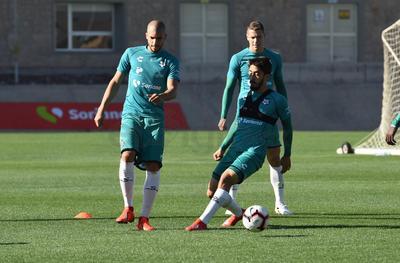 Santos Laguna comenzó su preparación para recibir mañana al CD Marathón de Honduras, dentro de la Liga de Campeones de la Concacaf.