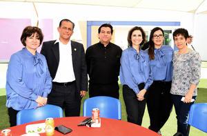 27022019 Cecilia Macías, Katy Ceniceros, Pily Fernández, Paty Barraza y Agustín Reyna.
