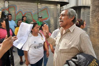 Insistieron en que el Gobierno de Jorge Zermeño Infante no los notificó ni tampoco les dio certeza respecto a una reubicación.
