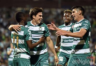 Santos golea nuevamente y va a Cuartos de Final de Concachampions