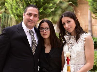 Luis, Luisa y Bárbara.