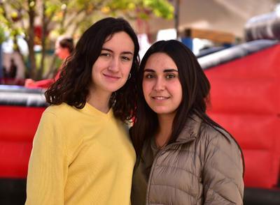 Rocío y Regina.