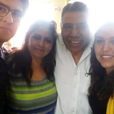 Raúl, Yolanda, Jesús y Made