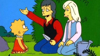 Paul McCartney fue otro de los famosos que se inmortalizaron, aún más, con Los Simpsons, en ese episodio el exBeatle ayudó a Lisa a ser vegetariana.