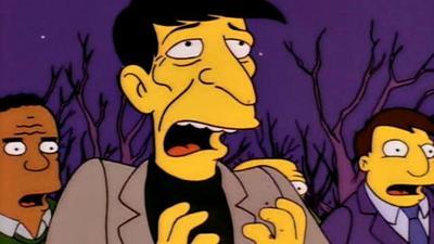 Leonard Nimoy tuvo su aparición en Los Simpsons en un episodio donde Homero creyó ver un extraterrestre, tratándose del Señor Burns.