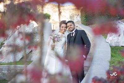 03032019 Perla Ednna Calderón Taboada y Carlos Alberto Hernández Loera se unieron en matrimonio el 13 de febrero.