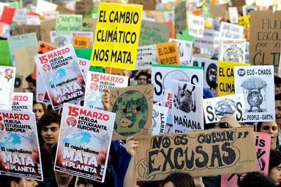 Se desarrollaron manifestaciones y concentraciones en unas 1,800 ciudades de un centenar de países.