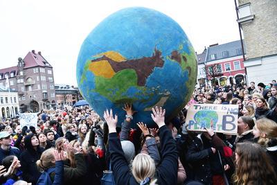 Son parte del movimiento 'Youth for Climate' (Jóvenes por el clima, en español).